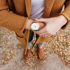 Seasons change but our love for mustard yellow is forever 🍂💛 Mustard Yellow, Fall 2018, Our Love, Giveaway, Change, Seasons, Watches, Collection, Instagram