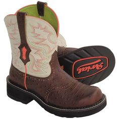 Ariat Fatbaby Saddle Bright Cowboy Boots (For Women)