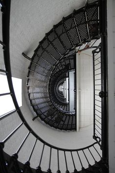 Inside the St. Augustine Lighthouse