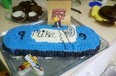 Skateboard Bday cake