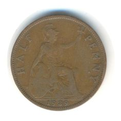 Vintage Coin George V Half Penny 1929 Code: by JMCVintagecards Postcards For Sale, Coins For Sale, Coin Collecting, Mall, Stamps, British, Coding, Etsy Shop, Group