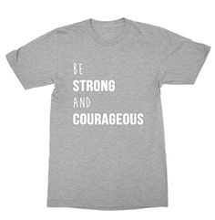Be Strong And Courageous God Shirt - Christian Shirt FUNK... https://www.amazon.com/dp/B01N3ODFV1/ref=cm_sw_r_pi_dp_x_YSqjybKSYGR5T