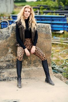 www.horsealot.com, the equestrian social network for riders & horse lovers | Equestrian Fashion : leopard outfit.
