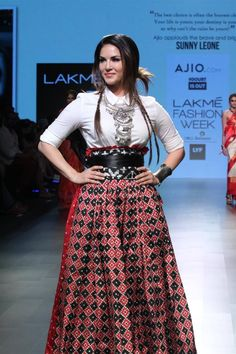 The Pictures Of Bollywood Celebrities At Lakme Fashion Week Summer Resort 2016 in Mumbai on Friday, April 2, 2016: