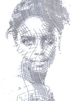 Kris Trappeniers_Analog halftone_ballpoint on paper