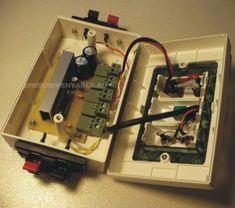 Amplificador ultracompacto - Hazlo tú mismo en Taringa! Amplificador 12v, Power Strip, Vacuums, Home Appliances, Diy, Car Audio, Projects, Studios, Bricolage