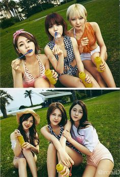 Aoa Hot summer photobook