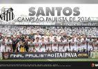 Santos - Campeão do Campeonato Paulista