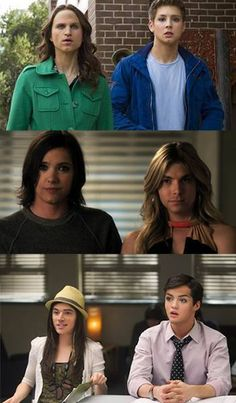 spoby, haleb and ezria swap faces. I actually can't stop laughing