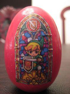 Legend of Zelda Easter Egg Video Game Art, Video Games, Happy Easter Everyone, Famous Castles, Wind Waker, Geek Girls, Legend Of Zelda, Art Music, Easter Eggs