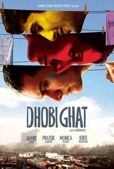 Dhobi Ghat (Mumbai Diaries) poster design