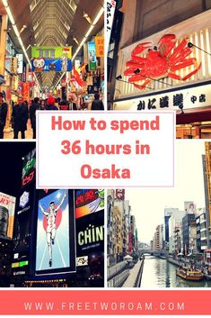A quick guide to what to see, where to stay and what to eat in Osaka, Japan. Travel in Asia.