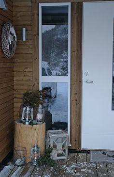 Svenngården Christmas Inspiration, Ladder Decor, Cabin, Home Decor, Decoration Home, Room Decor, Cabins, Cottage, Interior Design