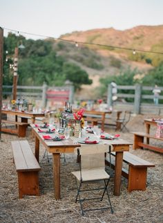 Ojai Rehearsal Dinner + Wedding from Megan Sorel Photography