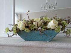 Elisense - Interieurstyling | bloemstukken en kransen met zijde bloemen