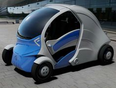 The Armadillo T is an exceptional car that is able to fold itself in half and remotely park into difficult spots. Designed by researchers at Korea Advanced Institute of Science and Technology, the car is a revolutionary concept that is perfect for urban areas with minimal space.