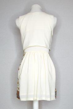 ONE OF A KIND BEADED SET - MUMBAI MELODY Cool Shapes, Silk Charmeuse, Metallic Thread, A Line Skirts, Mumbai, Hemline, Sequins, Dreams, Fashion Outfits