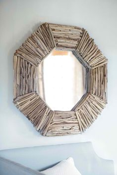 Driftwood Mirror. Next beach project