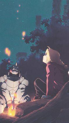 鋼の錬金術師 Fullmetal Alchemist Edward Elric and Alphonse Elric Fullmetal Alchemist Brotherhood, Fullmetal Alchemist Mustang, Fullmetal Alchemist Alphonse, Alphonse Elric, Full Metal Alchemist, Roy Mustang, Otaku Anime, Manga Anime, Anime Art