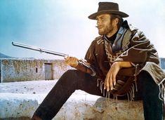 Clint Eastwood - Arquetipo del hombre duro, aventurero, curtido... modelo tradicional de comportamiento masculino.