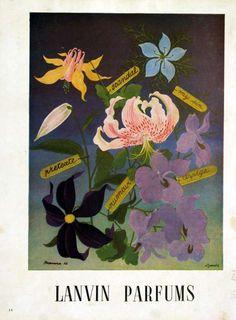 Publicité du parfum Lanvin de Lanvin