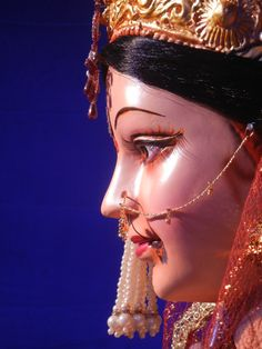 Bhaavini = The Beautiful Woman Maa Durga Photo, Radha Krishna Photo, Durga Maa, Krishna Photos, Lord Vishnu Wallpapers, Indian Gods, Gods And Goddesses, Deities, Mythology