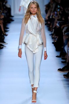 Givenchy >> Spring 2012 >> RTW...i love the draping and texture combo