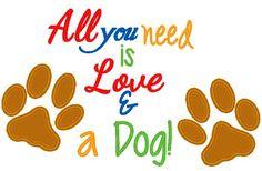 Love and dog