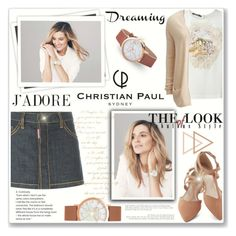 """Dreaming of Christian Paul"" by katyusha-kis ❤ liked on Polyvore featuring Dsquared2, Dolce&Gabbana, VILA, GALA and christianpaul"