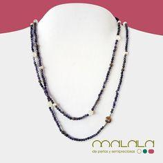 #collar de #iolita #perlas cultivadas grises y piezas de #plata. 120. Disponible en tienda online: http://ift.tt/1jyUzWV  #necklace #pearls #complemento #diseño #fashionladies #fashiontrendy #handmadejewerly #hechoenespaña #joyasdeautor #moda #mypearlobsession #fashionshopping #hechoamano #joyaspersonalizadas #regalosconmagia #special #tendencia #unique #woman #mode #nature