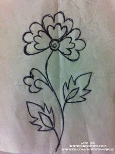 See related links to what you are looking for. Hand Embroidery Designs, Embroidery Thread, Flower Embroidery, Fleur Design, Motifs Perler, Thread Art, Paint Designs, Flower Designs, Cover Art