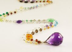 Rainbow Dream Necklace-Sterling Silver
