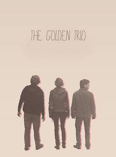 the golden trio tumblr - Google Search