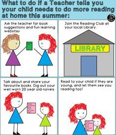 Summer Reading advice Comic
