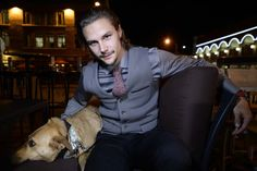 Erik Karlsson and 5 of his Ottawa Senators teammates attended a fundraising dinner for local Ottawa Dog Rescue organization Hopeful Hearts at the Empire Grill in Ottawa Sunday October 20, 2013.