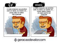 A diferença de um GV e da boiada.