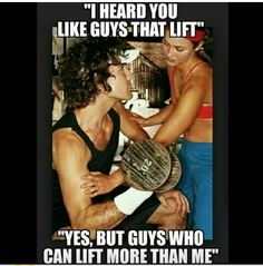 Gym humor....fit girls be like