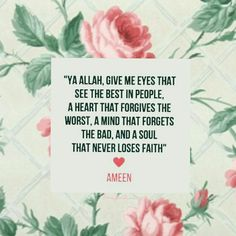 Understand... Forgive. .. forget n move on.. Perfection is only in the mind.. People battles - in silence.. Judge not to be judged... push not, to be touched back (in shaa Allah to be fleeting).. Ameen. .Peace be with u.. .. 26.08.2017