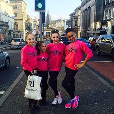 Nia, Maddie, Kendall, and Mackenzie