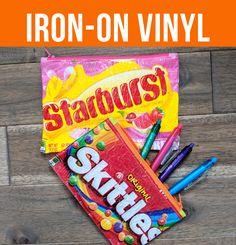 VIDEO: How to Use Iron-on Vinyl - Sew Sweetness