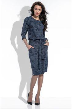 Dresses For Work, Floral, Fashion, Moda, Fashion Styles, Flowers, Fashion Illustrations, Flower