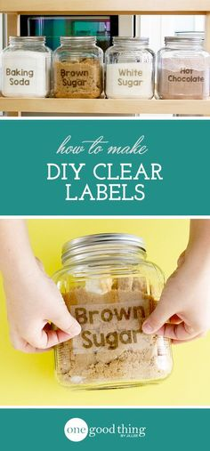 Learn how to use your inket printer and some packing tape to make your own clear, custom labels. You won't believe how easy it is!