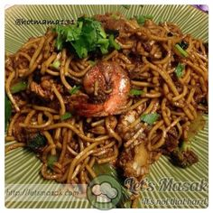 You can find all delicious recipes here. Mee Goreng Mamak, Malaysian Food, Yummy Food, Delicious Recipes, Japchae, Allrecipes, Cooking Recipes, Beef, Asian