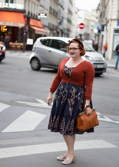 Today, we're thrilled to bring you our next Curvy Confidence Interview with Lana of LeesVoer. Lana is a curvy sewist, blogger and model, and has always made me smile with her awesome vintage outfits. Over to you, Lana! Let's start at the beginning! What was your body image like as a child and teenager? My {...Continue Reading}