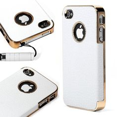 ATC Ivory White + Gold Edge Chrome Vintage Leather Protective Case Cover for Apple iPhone 4 4G 4S + Free Screen Protector +Stylus Pen Generic,http://www.amazon.com/dp/B008PAWOVU/ref=cm_sw_r_pi_dp_uwCVsb14S4PR6M1C