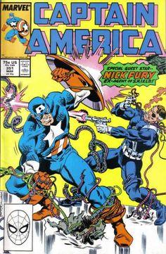 Captain America #351, 1989