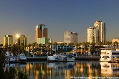 Downtown Long Beach and Waterfront Center, Long Beach, California