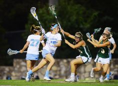 In the first half of the North Carolina women's lacrosse team's rout of Jacksonville on Friday, senior midfielder Kara Cannizzaro saw the perfect opportunity to give her freshman teammate Aly Messinger a reason to celebrate with her on Senior Night. Soccer Memes, Softball Quotes, Lacrosse Memes, Softball Senior Pictures, Senior Guys, Senior Photos, Unc Lacrosse, Girls Lacrosse, Foto Sport
