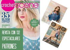 Patrones Crochet: Revista crochet 132 paginas patrones