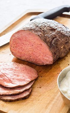 Slow-Roasted Beef. We developed a method for transforming a bargain cut into a tender, juicy roast.